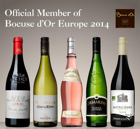 """Vingruppen AdVini utsedd till """"Official Member of Bocuse d'Or Europe 2014"""""""