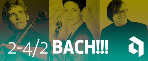 Bachs samtliga solosviter för piano, cello och violin - BACH!!!