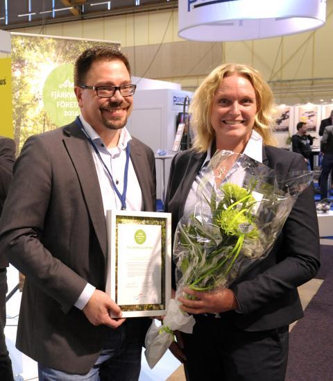 Falu Energi & Vatten blev årets Fjärrvärmeföretag