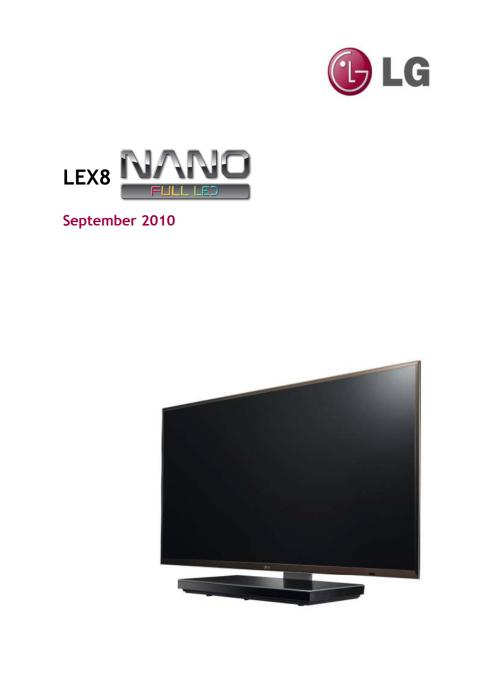 Nano Full LED TV Tech Presentation