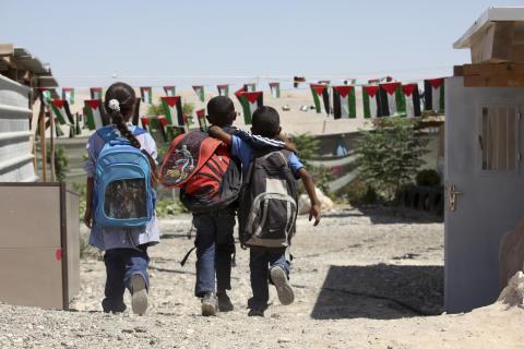 Palestinska barn berövas rätten till utbildning