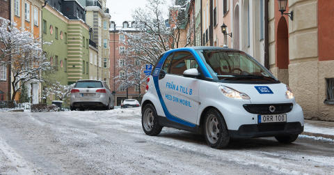 Bildelningstjänsten car2go nu tillgänglig på Stockholm Arlanda Airport och Bromma Stockholm Airport