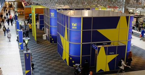 Förtidsrösta i Nordstan EU-valet