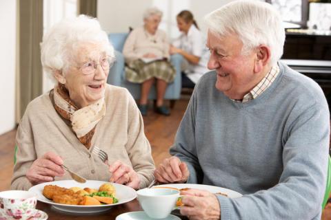 3D-printade måltider för äldre kan leda till minskad undernäring