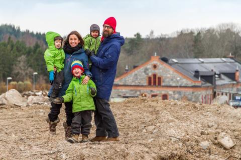 Försäljningen av bostäder i den unika slotts- och bruksmiljön vid Steninge Slott är i full gång!