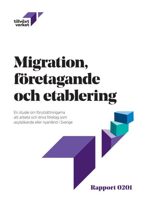 Migration, företagande och etablering 2016