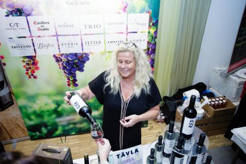TV-profilen Mia Parnevik gästar Uppsala Vin & Deli