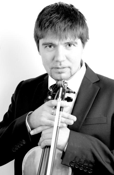 Mikhail Zatin, violin, Norrlandsoperans Symfoniorkester