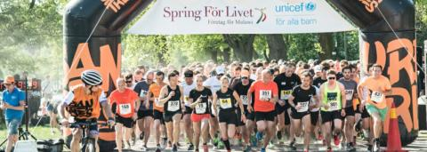 Dags för årets viktigaste lopp - Spring För Livet!