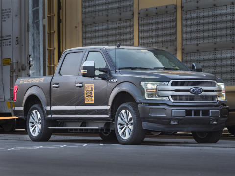 All-Electric F-150 4