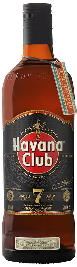Nylansering Havana Club 7- legendarisk rom från Kuba