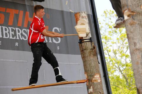 STIHL TimbersportS - Så brød Brian endelig fars dominans