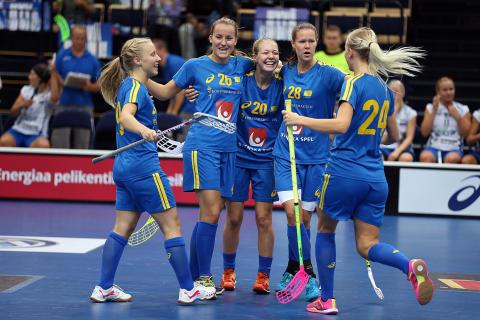 Sveriges innebandydamer vann returmatchen i Finnkampen