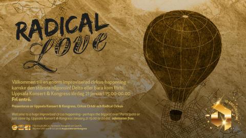 Radical Love - ett cirkusexperiment med fri entré!
