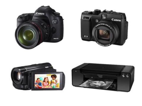 Fire Canon-produkter med utmerkelser i 2012–2013 EISA Awards