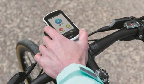 Der Tourenguide am Lenker:  Garmin Edge Explore Velonavi