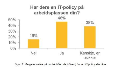Mer enn halvparten av norske arbeidstakere følger ikke IT-policyen