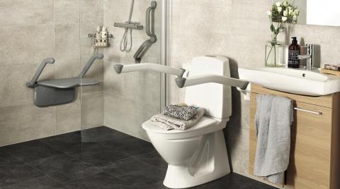 Etac lanserar ett nytt badrumskoncept –  S.P.A. Kollektion Säker.Personlig.Assistans.