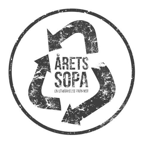 Årets sopa - logotyp