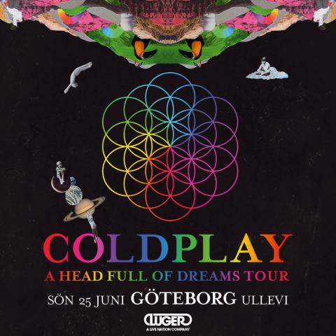 Fantastiska Coldplay till Ullevi nästa sommar