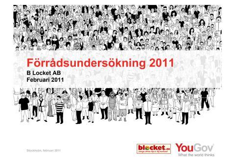 Förrådsundersökning 2011