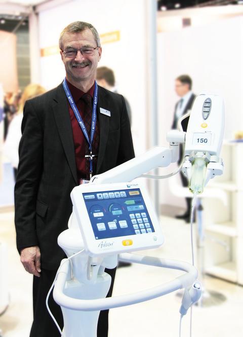 Geschäftsführer Klaus Kiesel, RSNA 2013