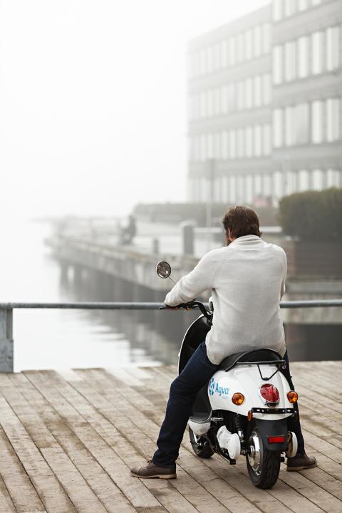 Agva Kraft el-scooter brygge