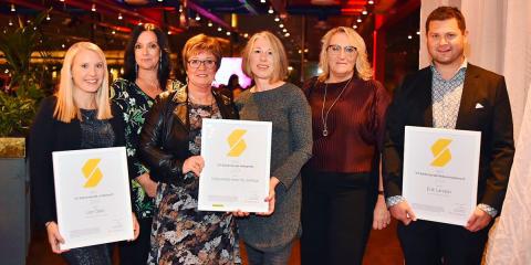 Vinnarna av årets branschutmärkelser