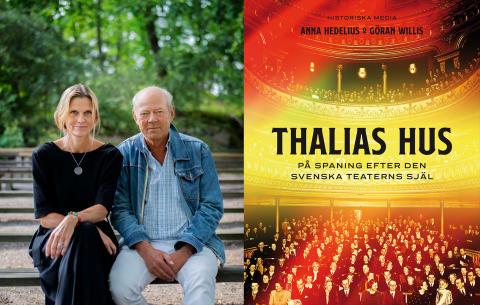 Ny bok! Två kulturprofiler i jakten  på den svenska teaterns själ.