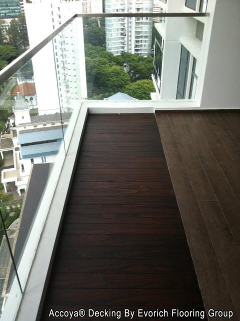 Outdoor Decking To Beautify Your Balcony