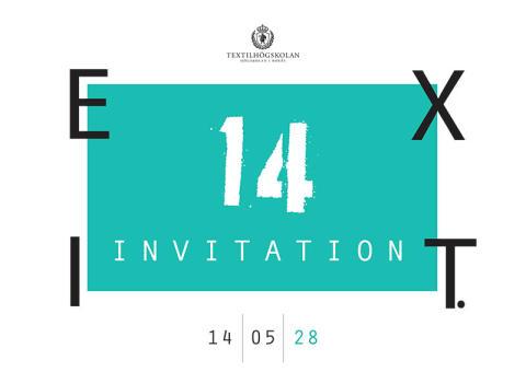 Pressinbjudan: Textilhögskolans examensutställning 28 maj