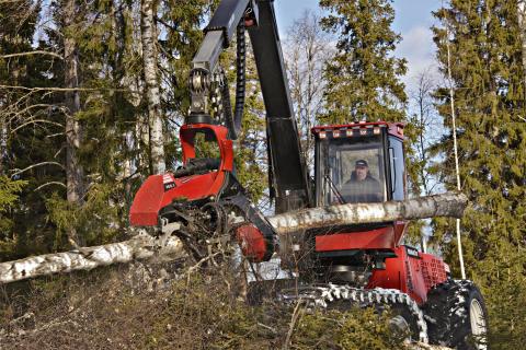 Komatsu Forest först med produktionsfiler enligt StanForD 2010