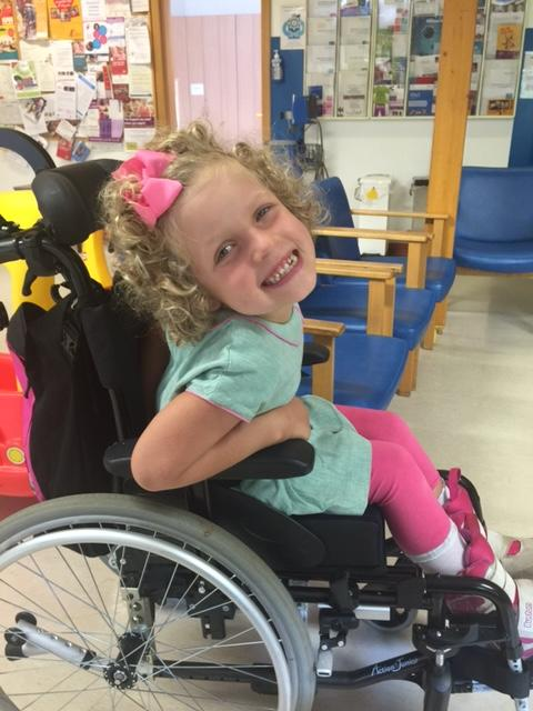 Brave Mimi inspires cyclists to raise over £37,000