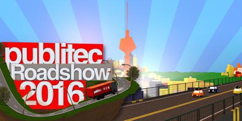 publitec on tour -  Erfolgreiches Roadshow-Konzept wird fortgesetzt