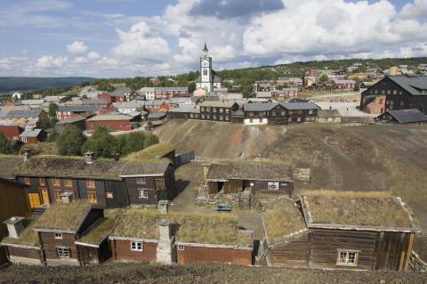 Unesco-Welterbe Røros in Trøndelag