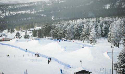 Kvalet för helgens skicross körs redan imorgon