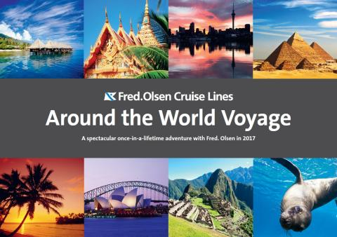 'Around the World' in 107 nights with Fred. Olsen Cruise Lines!