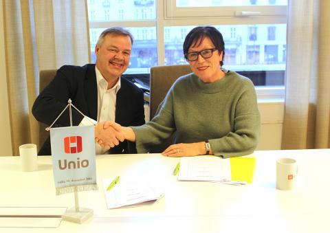 Unio og Storebrand inngår bankavtale