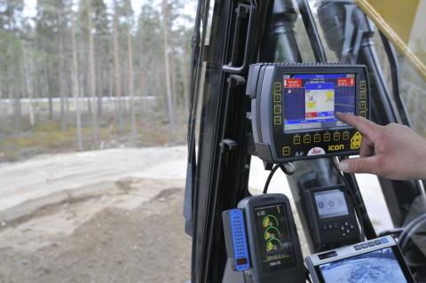 RPS, Rototilt Positioning Solution, och Leicas grävsystem förenklar maskinförarens arbete
