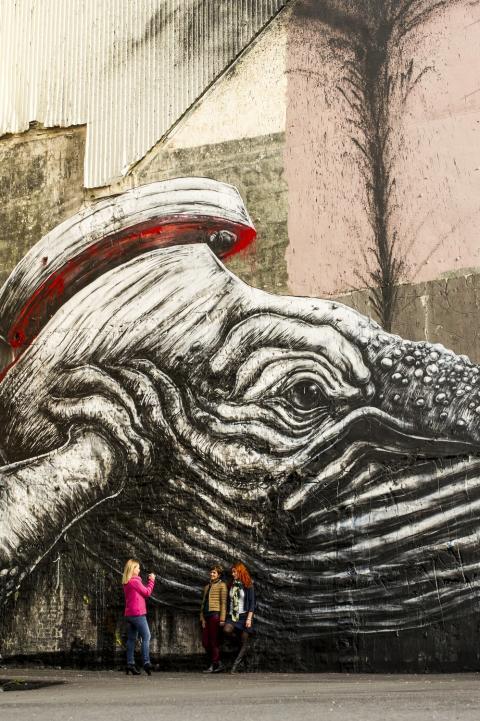 На фестивале стрит-арта Nuart в Ставангере