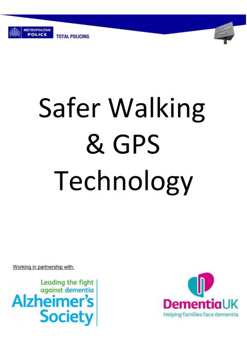 Safer Walking and GPS Technology