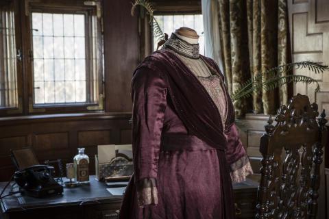 Änkegrevinnan av Granthams klänning