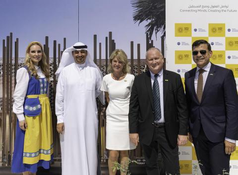 Camfil sponsors Swedish pavilion at Expo 2020