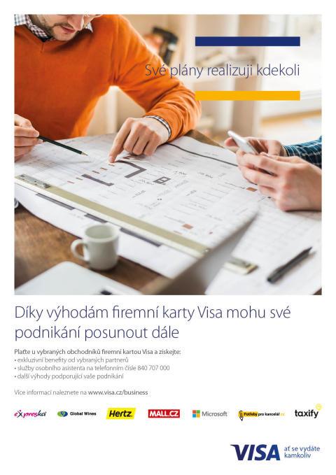 Firemní karty Visa podpoří vaše podnikání