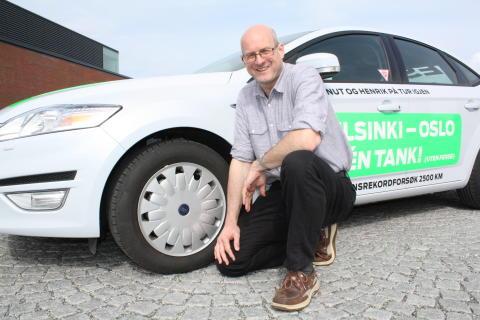 Rullet inn til Europa-rekord med Continental-dekk