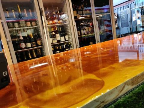 Metalliskt färgpigment – för effektlackering av golv och bordsskivor