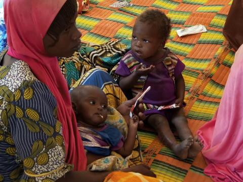 Lake Chad crisis - Health 2