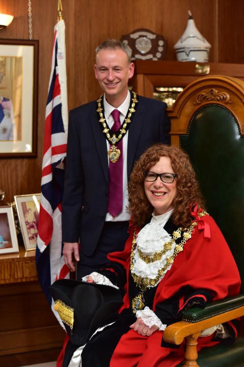 Prestwich councillor Jane Black is new Mayor of Bury