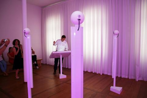 Mendelssohn-Haus - Martin Dulig dirigiert im Effektorium