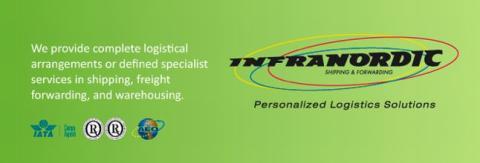 Infranordic Shipping & Forwarding AB söker erfaren exportspeditör
